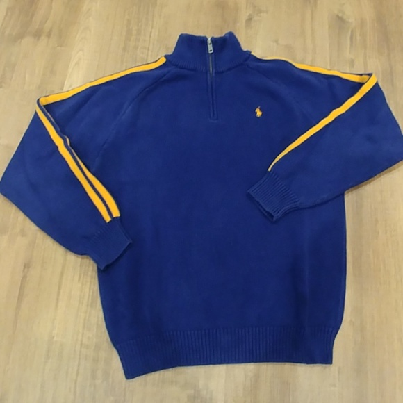Polo by Ralph Lauren Other - Boy's XL POLO RALPH LAUREN Navy Half Zip Sweater